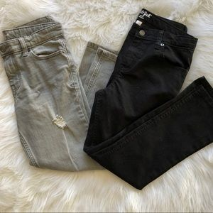 Cat & Jack•Bundle of boys husky jeans-EXC cond!